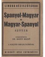 Spanyol-magyar és magyar-spanyol szótár - Dr. Honti Rezső