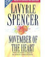 November of the Heart - Spencer, LaVyrle
