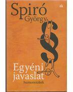 Egyéni javaslat - Spiró György