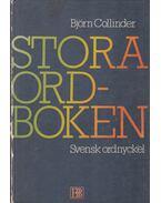 Stora ordboken - Björn Collinder