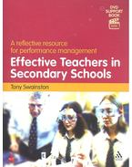 Effective Teachers in Secondary Schools - SWAINSTON, TONY
