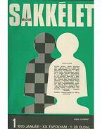 Magyar sakkélet 1970/1971/1972 (teljes) - Szabó László, Barcza Gedeon