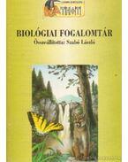Biológiai fogalomtár - Szabó László