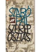 Szereposztás - Szabó Pál