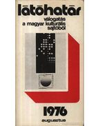 Látóhatár 1976 Agusztus - Szabolcsi Miklós