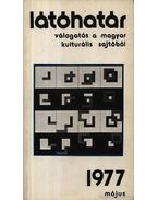 Látóhatár 1977 Május - Szabolcsi Miklós