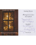 Hangversenydarabok (dedikált) - Szakonyi Károly