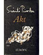 Akt (dedikált) - Szántó Piroska