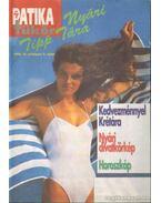 Patika Tükör Egészségügyi Magazin Nyári Melléklete 1996 - Szarvasházi Judit Dr.