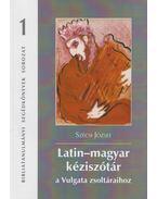 Latin-magyar kéziszótár a Vulgata zsoltáraihoz - Szécsi József