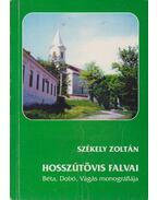 Hosszútövis falvai - Székely Zoltán