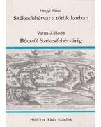 Székesfehérvár a török korban - Bécstől Székesfehérvárig - Hegyi Klára, Varga J. János