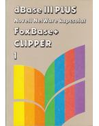 dBase III Plus Novell NetWare kapcsolat, FoxBase+ Clipper I. - Szenes Katalin