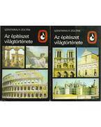 Az építészet világtörténete I-II. kötet - Szentkirályi Zoltán