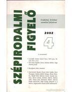 Szépirodalmi figyelő 2002/4