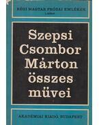 Szepsi Csombor Márton összes művei - Szepsi Csombor Márton