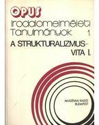A struktruralizmus-vita I-II. kötet - Szerdahelyi István