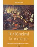 Történelelmi kronológia - Szincsák Tibor