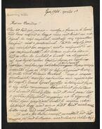 Szmrecsányi Miklós levél - Szmrecsányi Miklós
