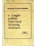 A Magyar politikatudományi Társaság évkönyve 1985 - Szoboszlai György