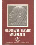 Medgyessy Ferenc emlékezete - Szőllősiné dr. Kürti Katalin szerk.