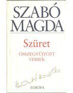 Szüret (dedikált) - Szabó Magda