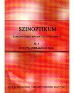 Szinoptikum - Szakdolgozat-kivonatok gyűjteménye 2013 - Tálas Ágnes, Pap Anna