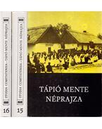 Tápió mente néprajza I-II. kötet - Ikvai Nándor