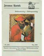Jeromos Füzetek 41. szám - Tarjányi Béla