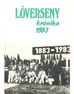 Lóversenykrónika 1983 - Tarsoly Gergely