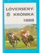 Lóversenykrónika 1988 - Tarsoly Gergely