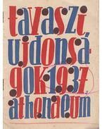 Tavaszi Ujdonságok 1937