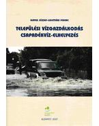 Települési vízgazdálkodás csapadékvíz-elhelyezés - Gayer József, Ligetvári Ferenc