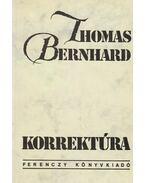 Korrektúra - Thomas Bernhard