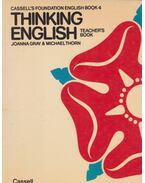 Thinking English - Teacher's Book - THORN, MICHAEL, Joanna Gray