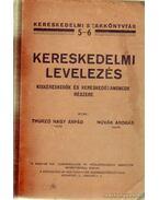 Kereskedelmi levelezés - Thurzó Nagy Árpád, Novák András