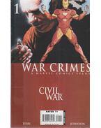 Civil War: War Crimes No. 1. - Tieri, Frank, Johnson, Staz