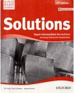 Solutions Upper-Intermediate - Munkafüzet érettségi felkészítő feladatokkal - Tim Falla, Paul A. Davies, Kelemen Ferenc