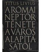 A római nép története a városalapítástól 3. kötet - Titus Livius