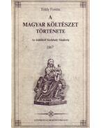 A magyar költészet története - Toldy Ferenc