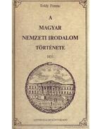 A magyar nemzeti irodalom története - Toldy Ferenc