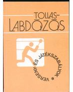 Tollaslabdázás - Fodor Endre, Rázsó Pál, Schmitt Éva, Makrai Béla, Bakó László, Rokonál György, Dr. Gláser István