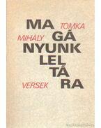 Magányunk leltára - Tomka Mihály