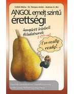 ANGOL EMELTSZINTŰ ÉRETTSÉGI + 2CD -  TOMPOS ANIKÓ ,  ANDREW BIRI