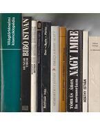 10 db vegyes történelem témájú könyv - Több szerző