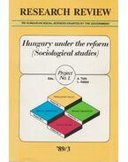 Research Review '89/3. - Tóth András, Gábor László