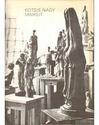 Kotsis Nagy Margit szobrászművész kiállítása (meghívó) - Tóth Attila