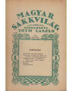 Magyar Sakkvilág 1938. Augusztus - Tóth László