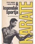 Karate a legendák sportja - Tótisz András, Gulyás Péter