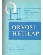 Orvosi Hetilap 1971 I-II. (teljes évfolyam) - Trencséni Tibor
